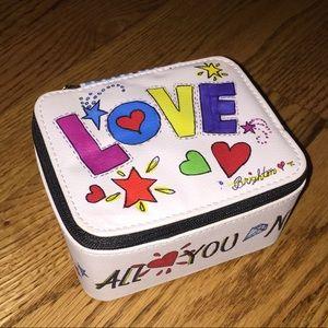 Brighton 'LOVE' travel jewelry box